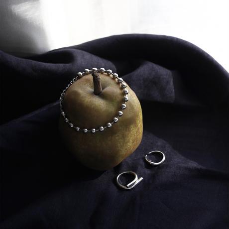 silver925 undulation ring