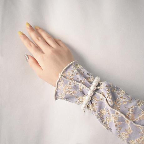 glass pearl bracelet M