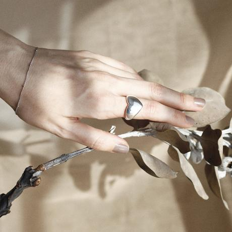 silver925 small ball chain bracelet