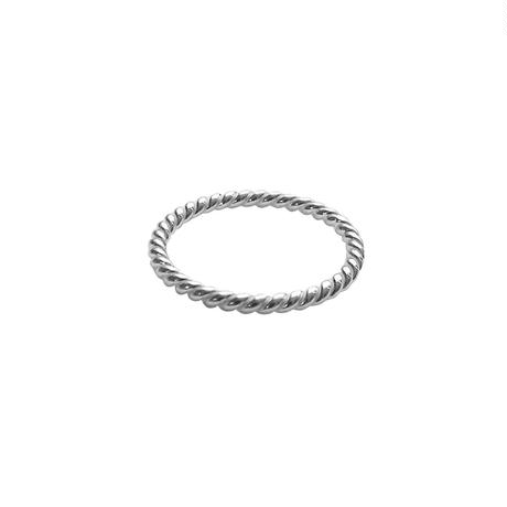 sv006 silver925 screw ring