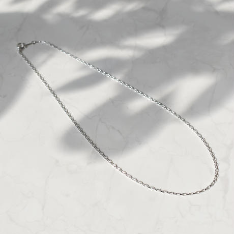 【limited】silver925 oval chain necklace