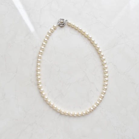 silver925 pearl shell necklace
