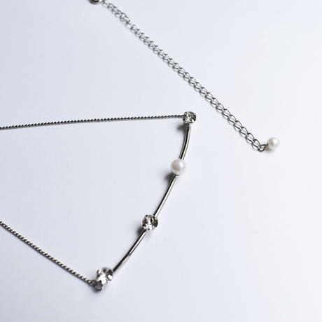 point bar necklace