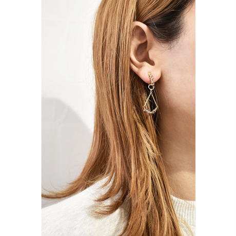 e140 2way beads earring
