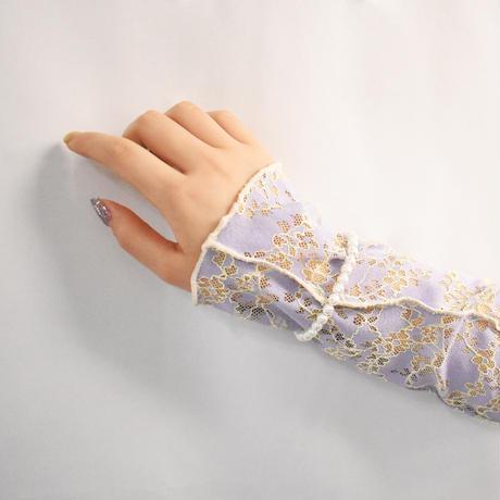 glass pearl bracelet S