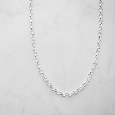 【limited】silver925 round chain necklace