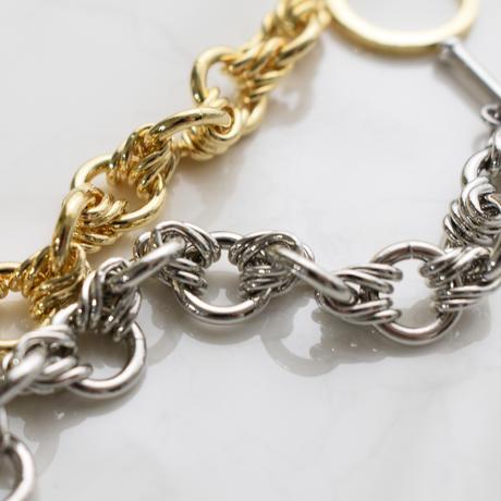 b019 metal circle chain bracelet