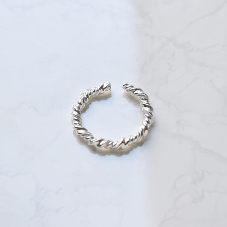 silver925 twisted ring