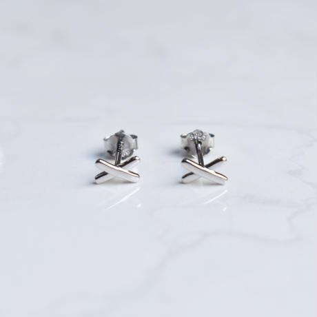 silver925 XX pierce