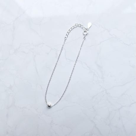 silver925 1ball bracelet