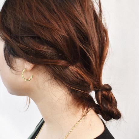 e152p252 metal twist pierce / earring