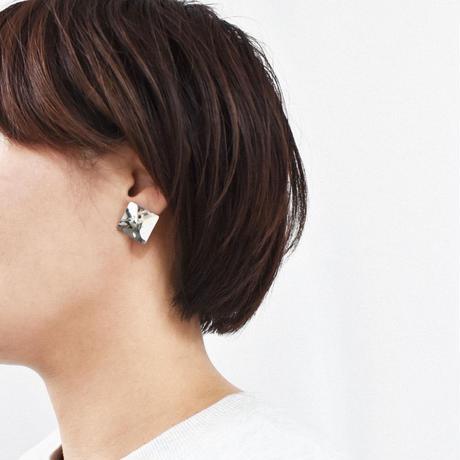 【limited】square metal  pierce