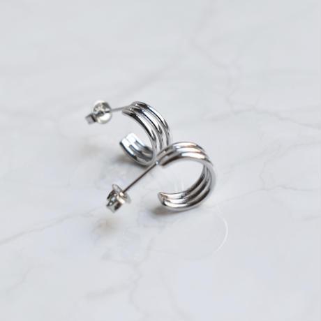 silver925 coil pierce