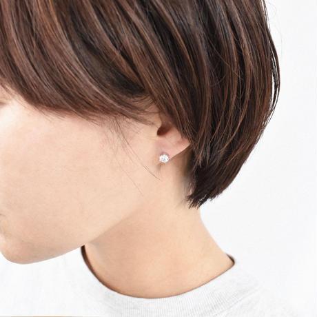 【limited】silver925 cubic zirconia  pierce