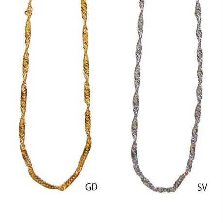 n137 twist chain necklace