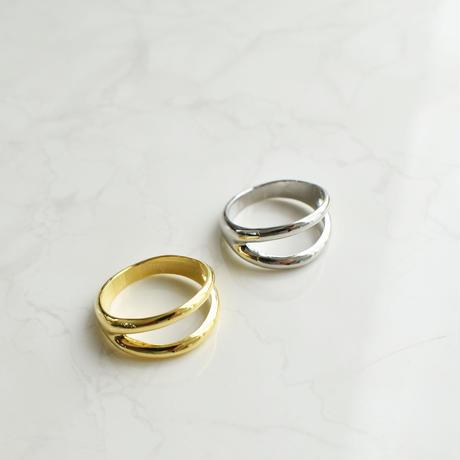 r077 metal 2line ring