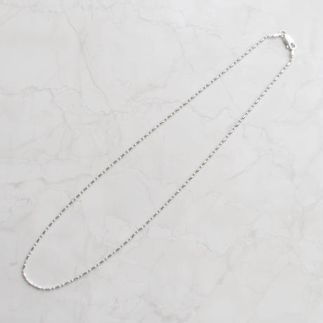 【limited】silver925 mix cut ball chain necklace