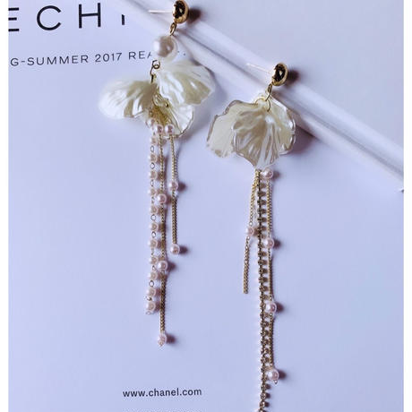 shell  long pearl  pierce