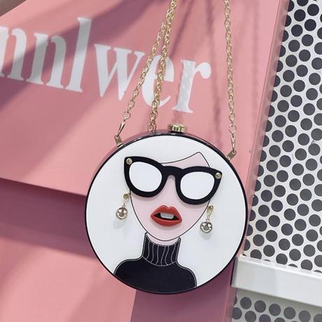 sunglasses girl shoulder bag