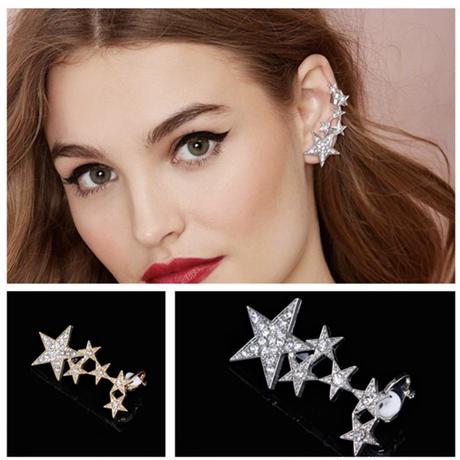 star ear cuff pierce