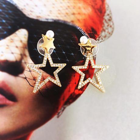 pearl star 2way pierce