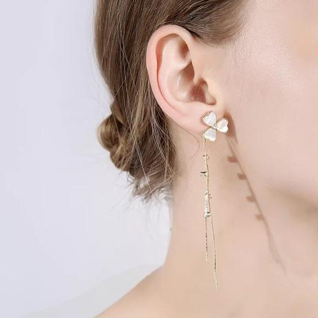 clover shell long pierce