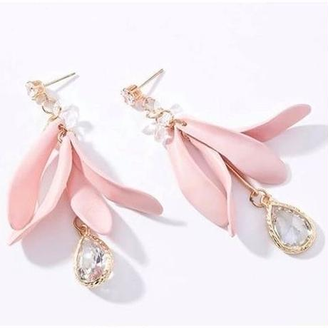 flower petal stone  pierce