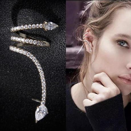 twist  ear cuff  pierce
