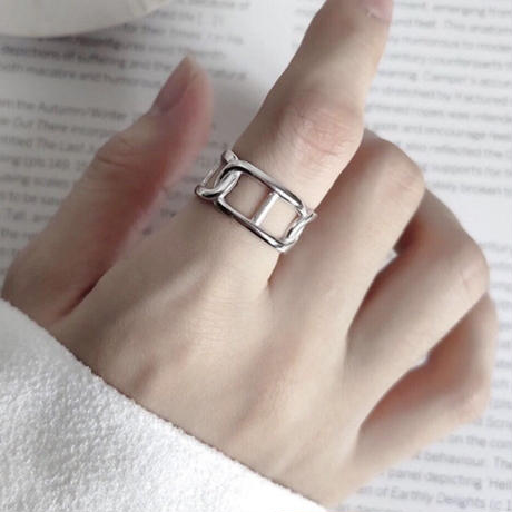 silver925 fat ring