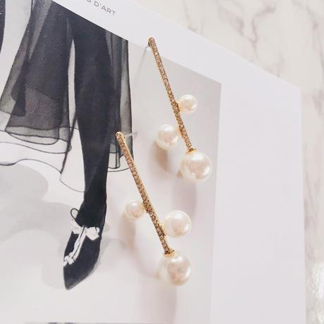 pearl  stick   pierce
