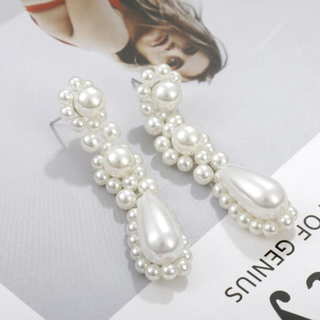 Pearl drop pierce