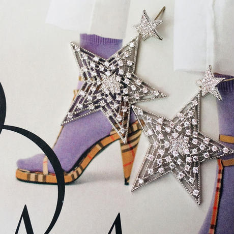 double star silver pierce