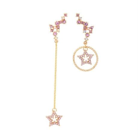 pink star asymmetry pierce