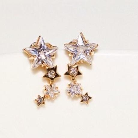 shooting star silver pierce
