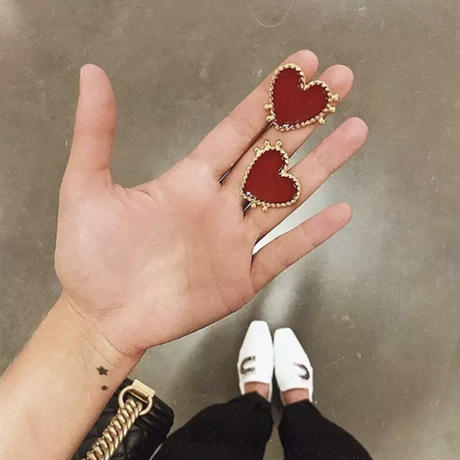 vintage heart pierce