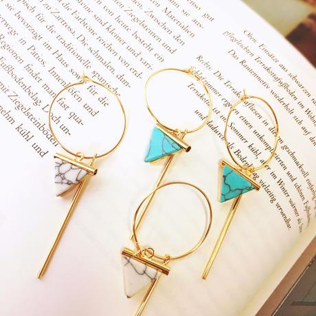 triangle marble pierce