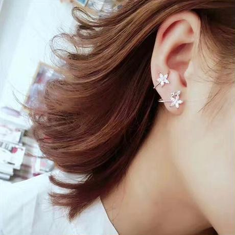 flower  curve  pierce