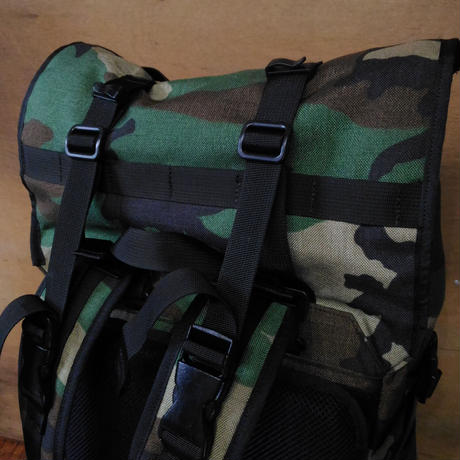 AGHARTA Backpack  Woodland Camo