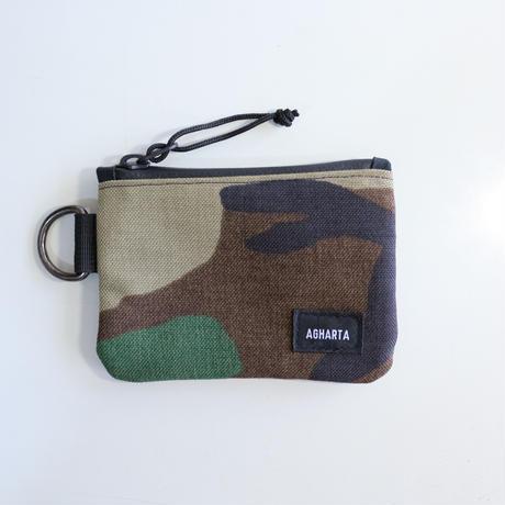 Mini Wallet Cordura Woodland