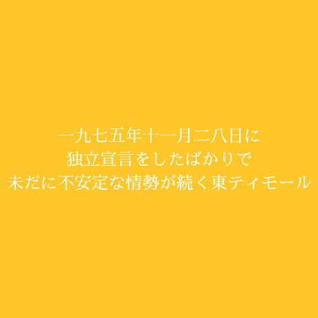 東ティモールの日が登るコーヒー / 100g (約5杯分)