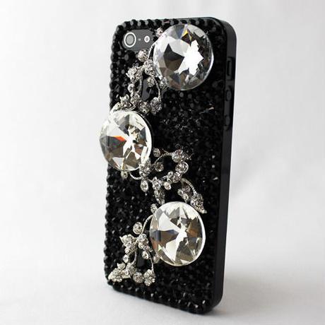 iPhone5/5s デコケース i(アイ)ジュエリーNo1