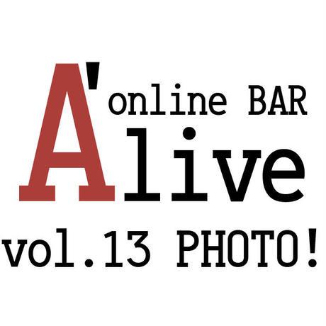 online BAR A'live vol.13 PHOTO!