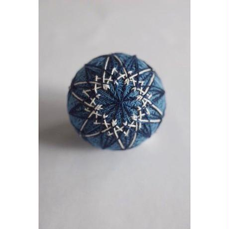 正藍染の手毬*お花