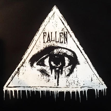 【HELLCATPUNKS】FALLEN EYE ロングプルオーバー