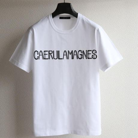 ロゴTシャツ〈 CAERULAMAGNES 〉 WT