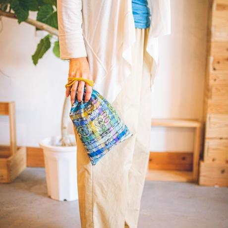 ILOITOO巾着袋(green)×ai coffee ドリップバックコーヒー3袋