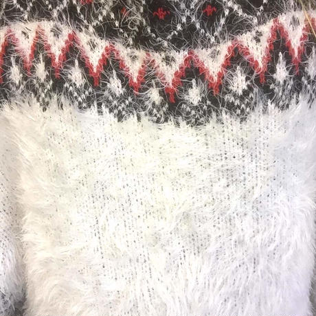 Scandinavian knit sweater