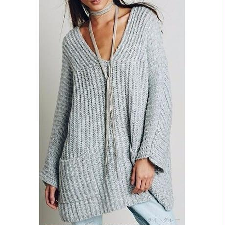 Knit sweater  / Grey