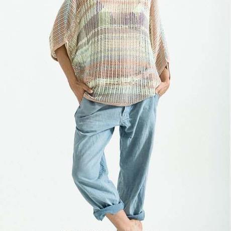 Rainbow Crochet Pullover   / eis/