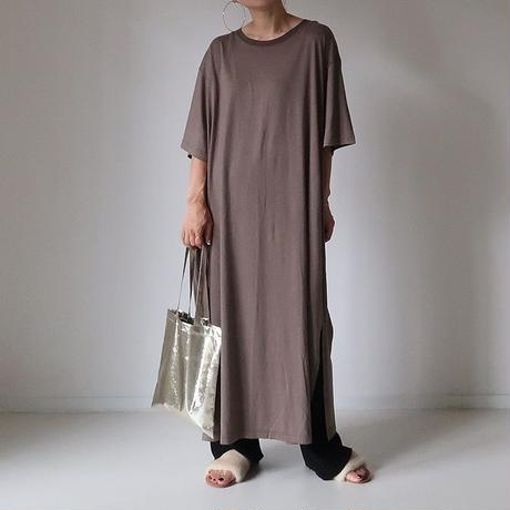 MOIST OVER-TDRESS  BAG SET  (MOCA BROWN×CHAMPAGNE)